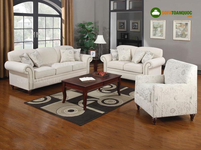 Sàn gỗ nên tương đồng với không gian phòng khách và tông màu của cả căn phòng
