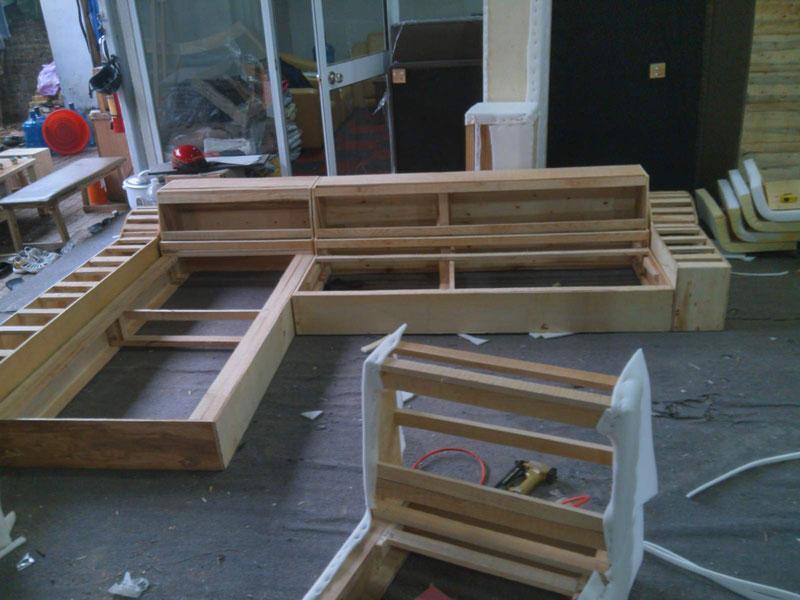 Lựa chọn gỗ cho phần khung bộ ghế sofa cần lựa chọn loại gỗ chất lượng