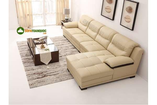 Nên chọn sofa da hay sofa vải cho căn hộ chung cư đây