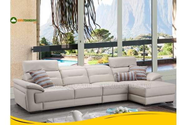 Nhà chung cư nên mua ghế sofa da hay sofavải