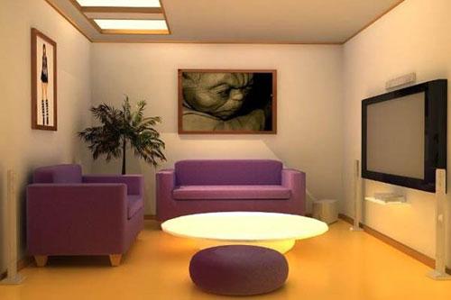 sofa nhỏ cho phòng khách nhỏ